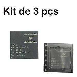 Kit 3 Peças Chip Hana X802478-003