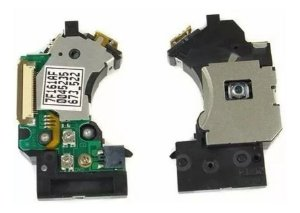 Kit 4x Unidade Ótica Pvr Para Ps2 + 2x Motor Central Ps2