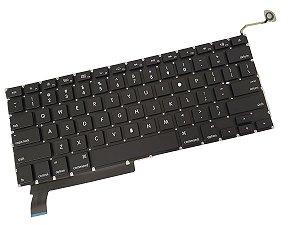 Teclado Macbook Pro 15 - A1286 2009 2010 2011 2012 Us -preto