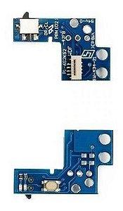 Kit (com 1) Botão Power  Slim Ps2 900xx + (1)  Botão Power  Slim Ps2 70xxx A 75xxx