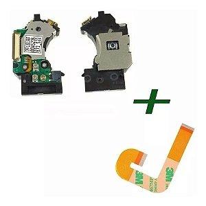Kit 1 Unidade Ótica Pvr802w + 1 Flat  J Para  Ps2 Slim 9000x
