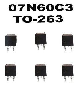 Kit 7 X 07n60c3 To-263 - Original