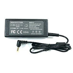 Fonte Carregador Notebook Acer 19v 3.42a 65w 5.5x1.7mm