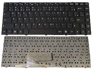 Teclado Para Notebook Msi Cr420 Cr420mx V111822ak1 Abnt2