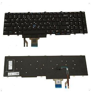 Teclado Para Notebook Dell Latitude E5550 E5570 Layout US