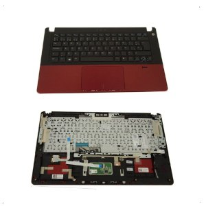 Carcaça C Teclado Touchpad Para Dell 5470 Espanhol Original