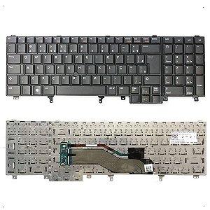 Teclado Dell E6520 E5530 E6530 E5520 Novo Original Br Ç