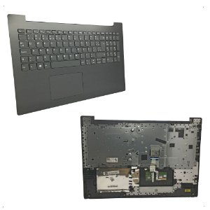Teclado Lenovo Ideapad 320-15isk 320-15ik Br Ç Cinza Escuro