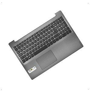 Teclado + carcaça base superior para Notebook Lenovo Ideapad 320-15isk
