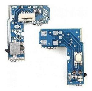 Kit 5x Placa Power Reset Ps2 Slim 70xxx A 75xxx