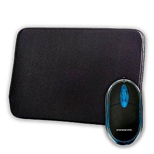 Kit Capa para Notebook 15,6 + Mouse