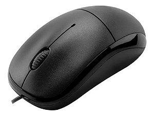 Mouse Linha Office CM11 Basic Preto Com Fio