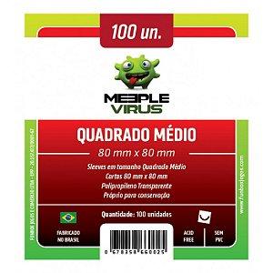 MEEPLE VIRUS - QUADRADO MÉDIO 80 x 80 mm