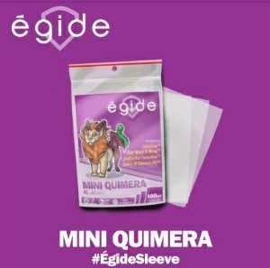 Sleeve Égide Mini Quimera (43mm X 65mm)