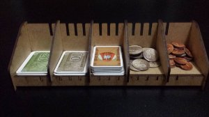 Card Holder - Organizador de cartas e componentes