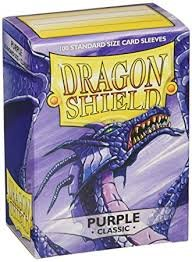 Sleeve Dragon Shield roxo