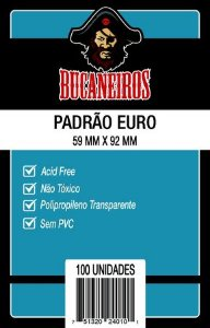 SLEEVE EURO (59x92) - BUCANEIROS