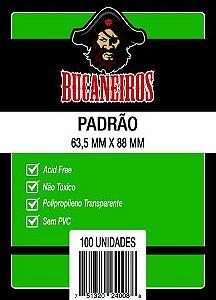 SLEEVE PADRAO (63,5x88) - BUCANEIROS