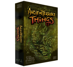 Ancient Terrible Things + expansão + metas alcançadas no Financiamento Coletivo