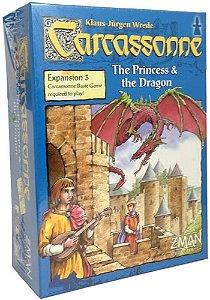 Carcassonne: A Princesa e Dragão