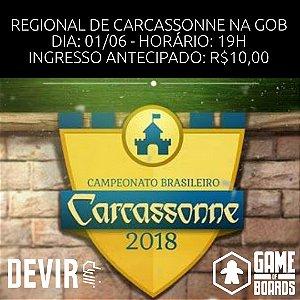 REGIONAL CARCASSONNE 2018 - 01/06