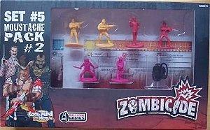 Moustache Pack #2 - Sobreviventes Zombicide