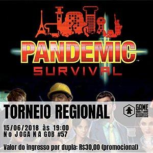 Campeonato Regional de Pandemic Survival 2018 (DUPLA)