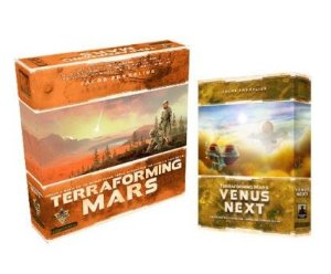 COMBO TERRAFORMING MARS + EXPANSÃO VÊNUS NEXT