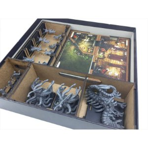 Organizador (Insert) para Ruas de Arkham e Além do Limiar (Mansions of Madness)