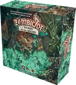 Zombicide: No Rest for the Wicked (PRÉ-VENDA - expansão Black Plague e Green Horde)