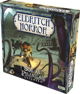 Eldritch Horror - Sob as Piramides