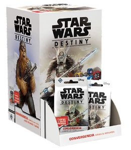 Box Star Wars Destiny: Convergência (C/36 boosters)