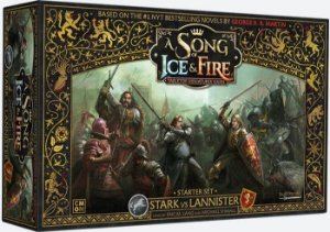 A Song of Ice & Fire - Jogo Base Stark vs Lannister
