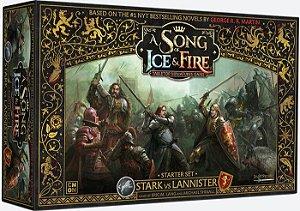 A Song of Ice & Fire - Jogo Base Stark vs Lannister (PRÉ-VENDA. PREVISÃO 12/2019)
