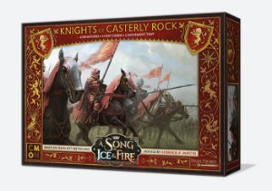 A Song of Ice & Fire - Cavaleiros do Rochedo Casterly (Caixa de Unidade) (PRÉ-VENDA. PREVISÃO 12/2019)
