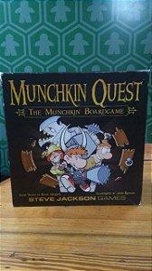 Munchkin Quest + Expansão Munchkin Quest 2 (MERCADO DE USADOS)