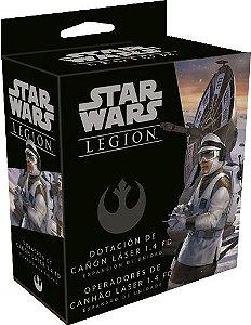 Star Wars: Legion - Operadores de Canhão Laser 1.4 FD (VENDA ANTECIPADA)
