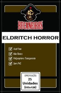 Sleeve Bucaneiros Customizado Eldritch Horror (103mm X 128mm)