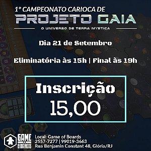 1º Campeonato Carioca de Projeto Gaia