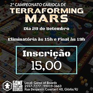 2º Campeonato Carioca de Terraforming Mars