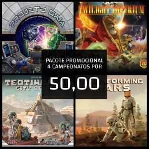 PACOTE PROMOCIONAL 4 CAMPEONATOS POR 50,00