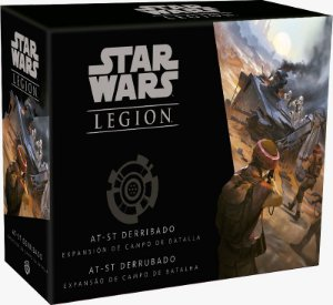 Star Wars Legion: AT-ST Derrubado