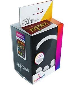 Keyforge Deck Box Gemini Black - Preto