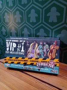 Zombicide Box of Zombies - Set #9 VIP #1 Very Infected People (MERCADO DE USADOS)