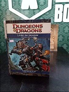 Dungeons & Dragons 4 - Livro do Jogador (MERCADO DE USADOS)