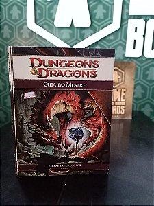 Dungeons & Dragons 4 - Livro do Mestre (MERCADO DE USADOS)