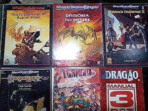 RPG Revistas e Livros diversos (MERCADO DE USADOS)