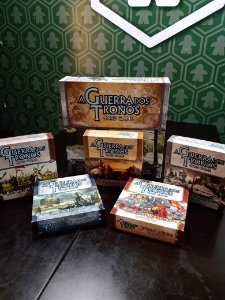 Game of Thrones Card Game + Expansões (MERCADO DE USADOS)
