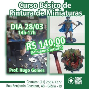 Workshop Pintura de Miniatura (28/03)