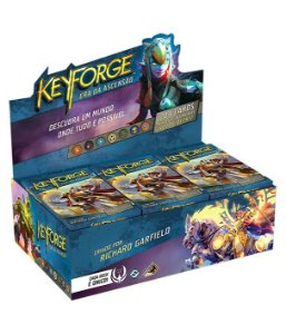 Keyforge Deck Display - Era da Ascensão (com 12 decks)